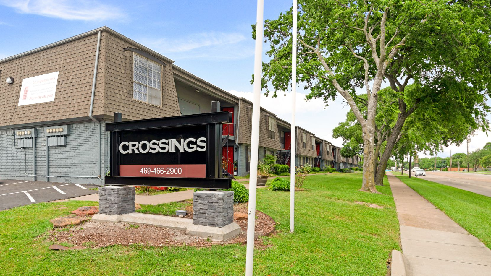 The Crossings Apartments in Garland were purchased by an investor.