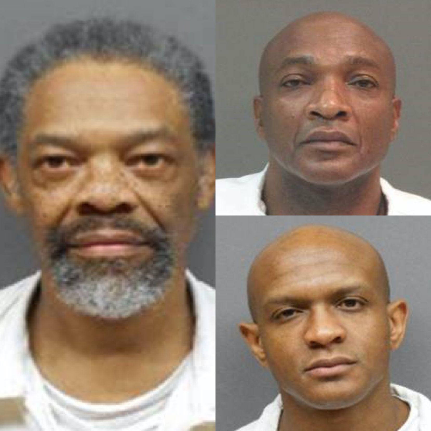 Artis Armour, Jessie Paul Skinner and Johnny Lee Walker (clockwise from left) are suing the Texas Department of Criminal Justice, alleging the extreme temperatures behind bars amount to cruel and unusual punishment.