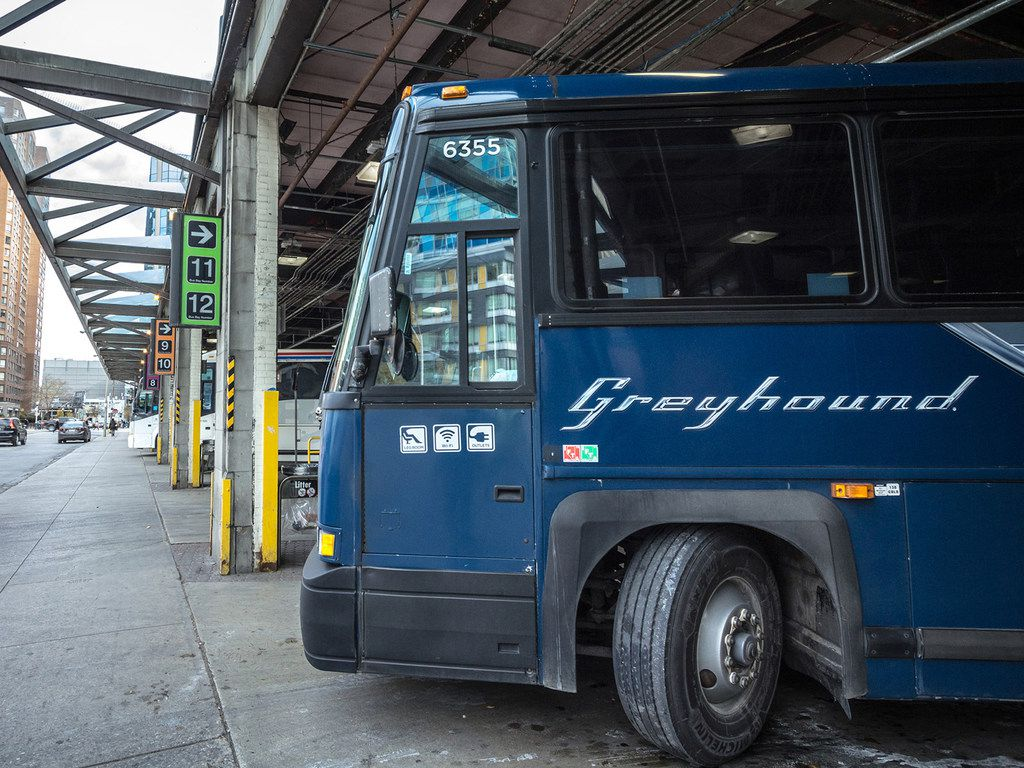 """Greyhound Bus Lines says its statement that an Arlington, Texas, man was kicked off a bus in the middle of the night because he was being """"unruly"""" was false and has issued an apology to the man. Mohammad Reza Sardari said he was forced off a bus in 2017 because he is Middle Eastern, according to a 2018 lawsuit he filed against Greyhound.  (Dreamstime/TNS)"""