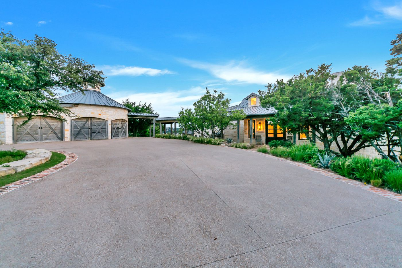 A look at the property at 2410 The Ranch Road in Graford, Texas.