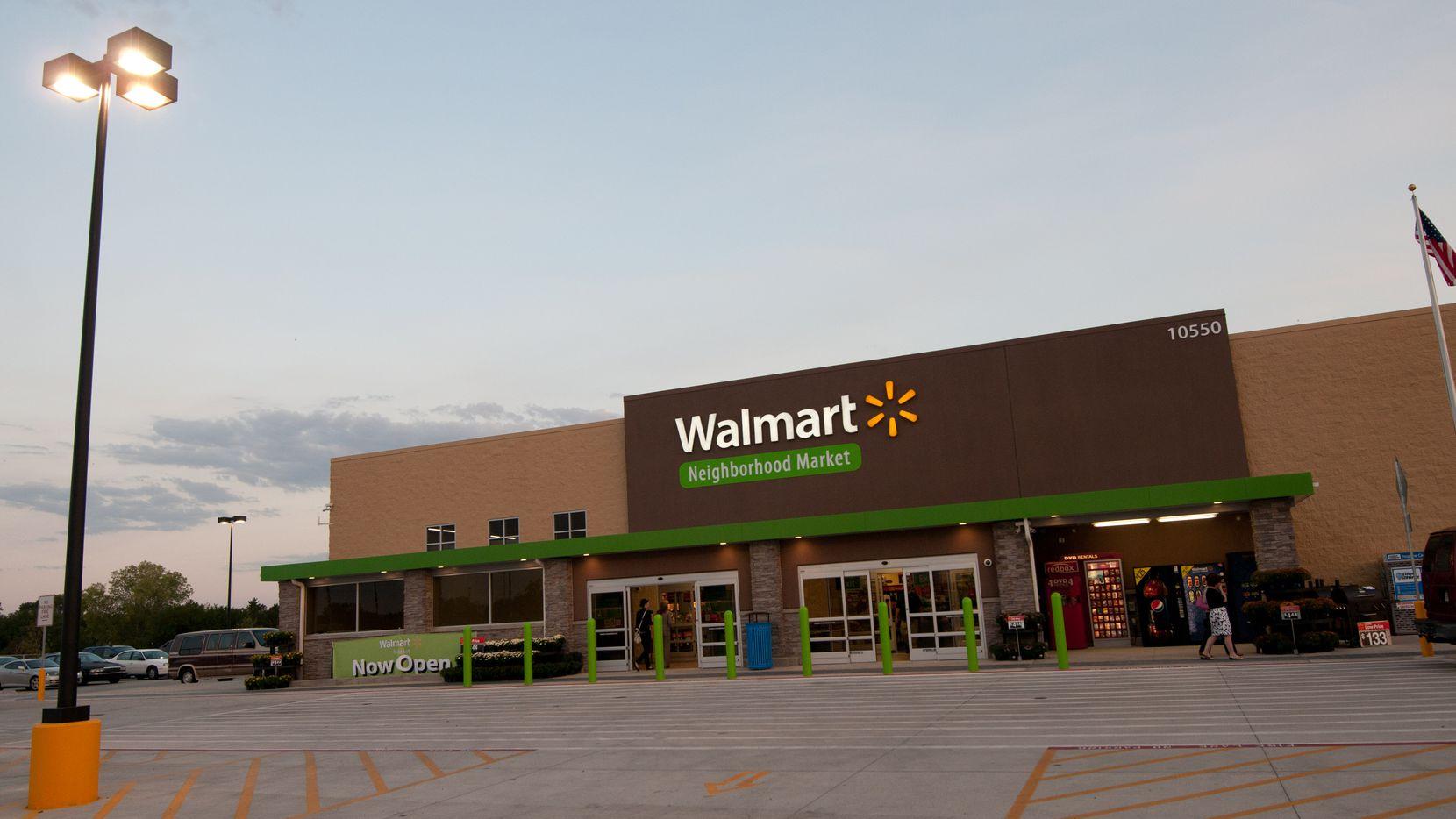A Walmart Neighborhood Market located in Jacksonville, Fla.