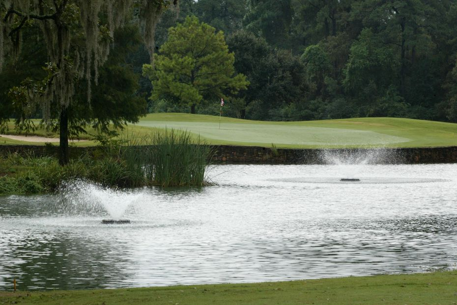 View of hole 15, Memorial Park Golf Club, Houston, Texas.