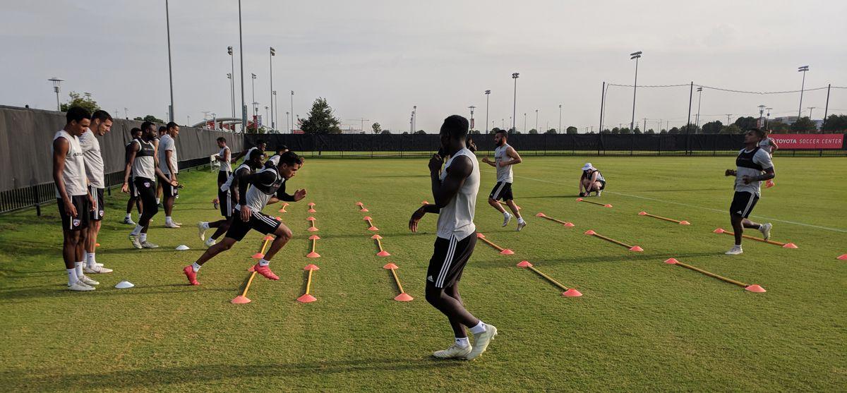 FC Dallas training. (7-18-18)