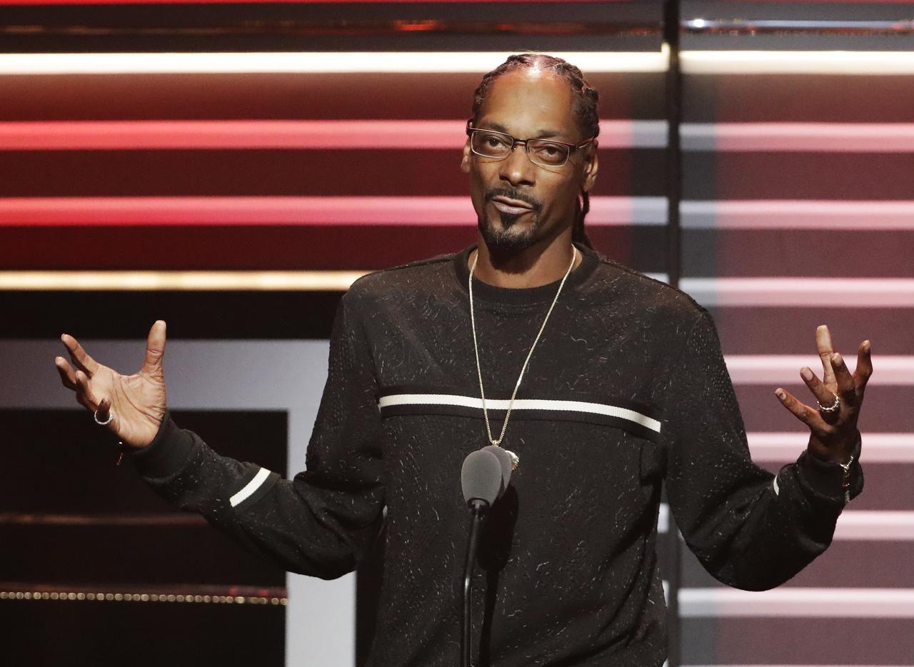 El rapero Snoop Dogg. (AP/David Goldman)
