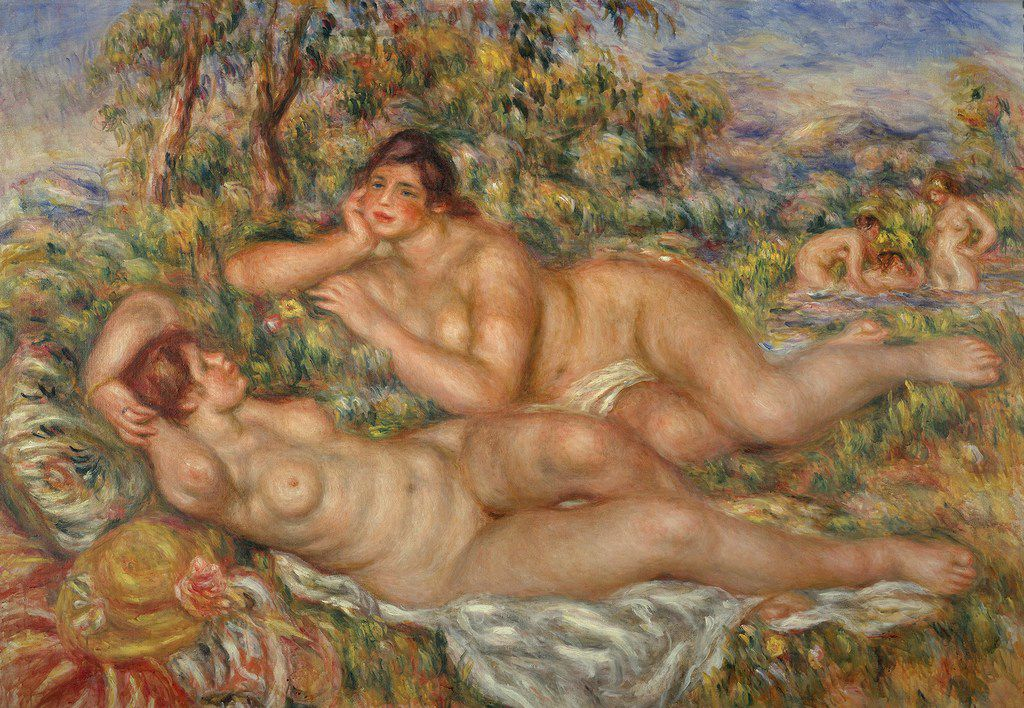 Pierre-Auguste Renoir's The Bathers will be included in the an exhibition at the Kimbell Art Museum beginning this October