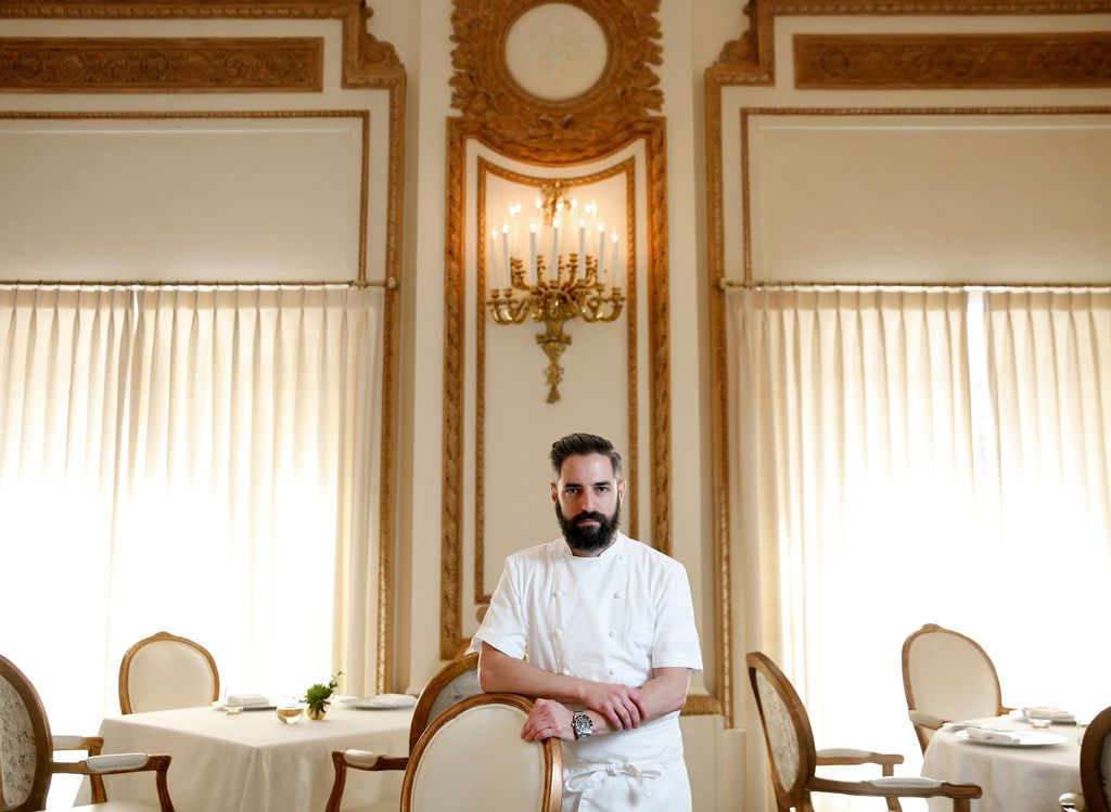 Anthony Dispensa, executive chef of the French Room at the Adolphus Hotel in Dallas