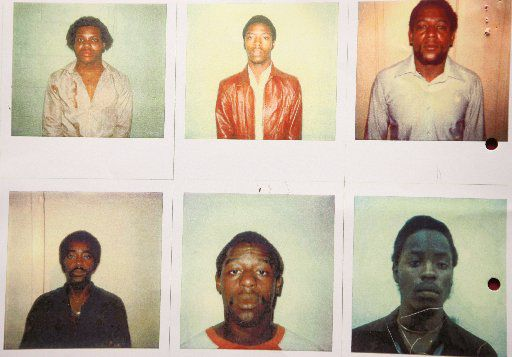 These are the police lineup photos in which the wrong person was identified resulting in convection and ultimately resulted in exoneration. Billy Miller and Billy Smith were not identifed with a lineup. They were identified by a witness who only looked at them.