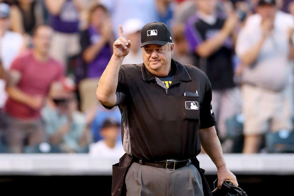 Joe West ha sido umpire en más de 5,000 partidos de beisbol en las Grandes Ligas