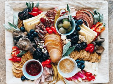Fount Board and Table offers grazing boards to go.