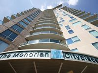 The Mondrian was the first high-rise apartment building constructed in Cityplace.