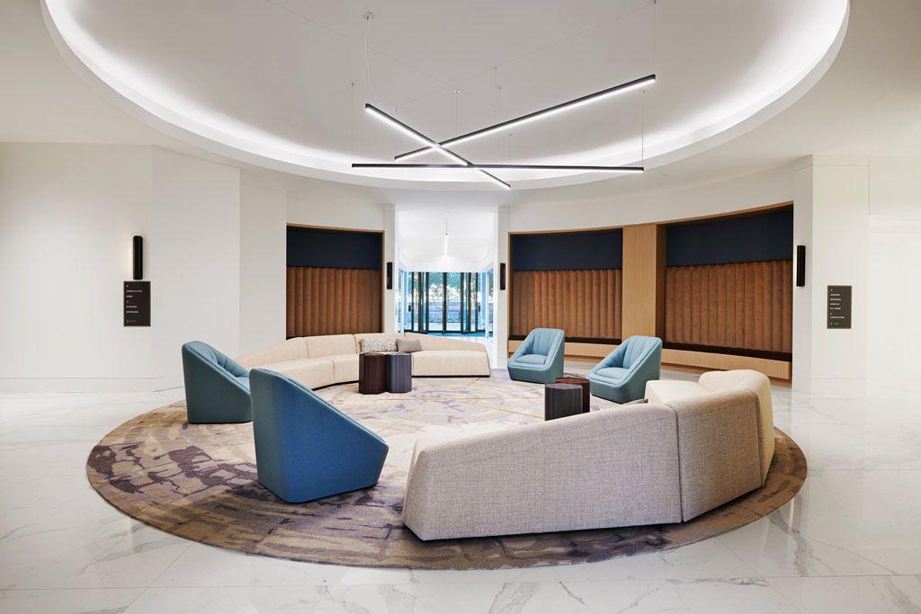 Dallas architect Corgan handled the Preston Commons redesigns.