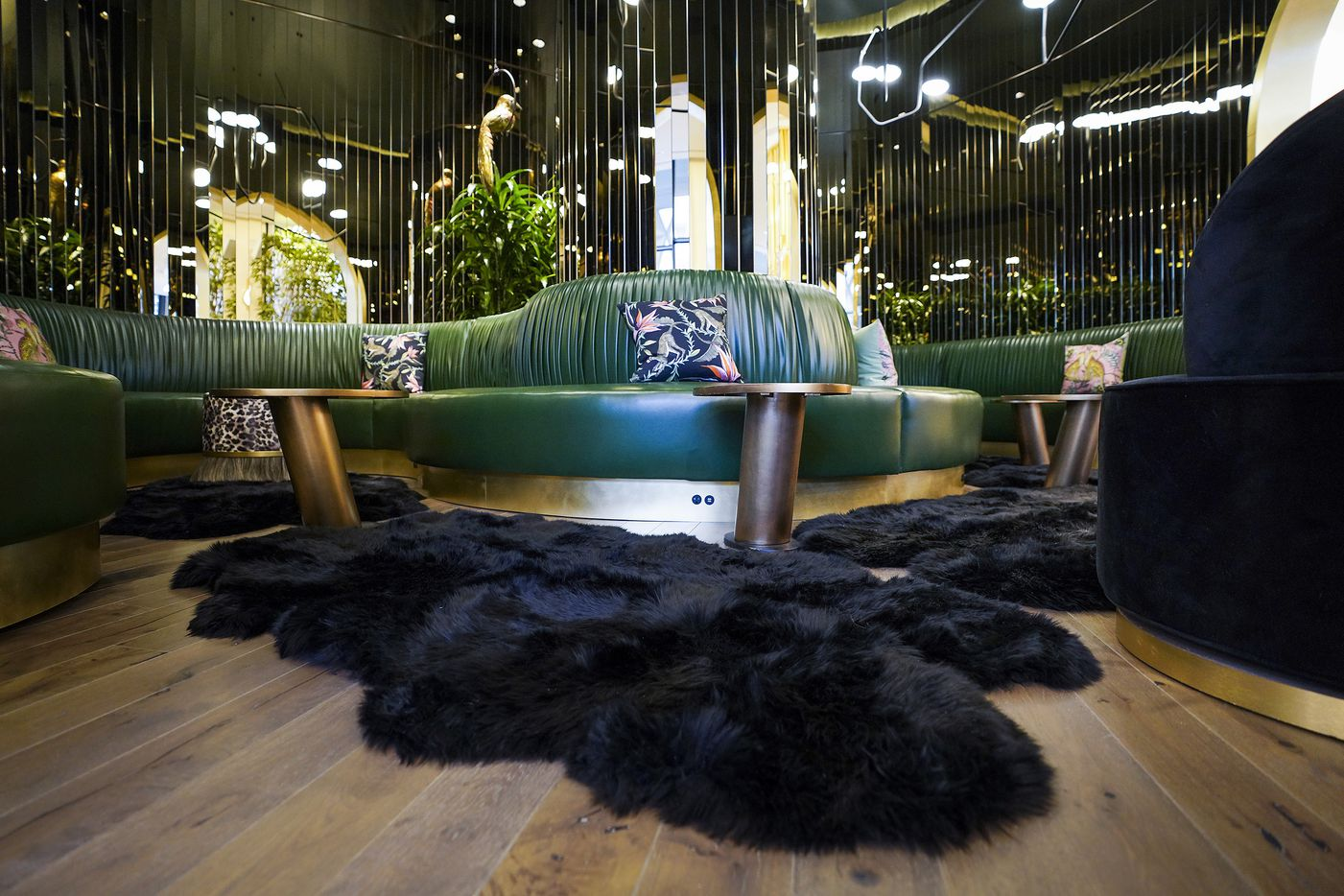 Shag Room in the Commons Club at the new the Virgin Hotels Dallas on Monday, Dec. 16, 2019, in Dallas. The newly built hotel is at 1445 Turtle Creek in the Dallas Design District.