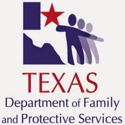 """Logo for the Texas Department of Family and Protective Services, which oversees the state's foster-care system. A recent judge's ruling says children in the system """"face an unreasonable risk of harm."""" Photo: DFPS"""