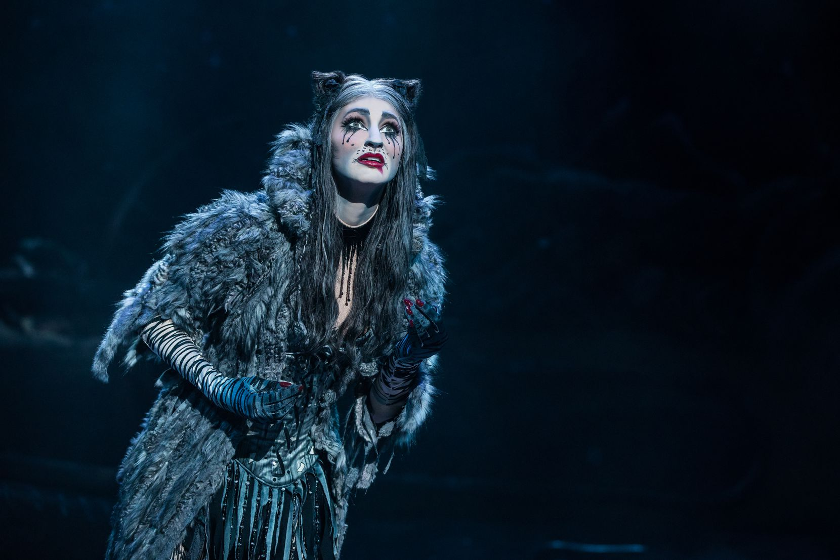 """Keri René Fuller stars as Grizabella in the North American tour of """"Cats."""""""