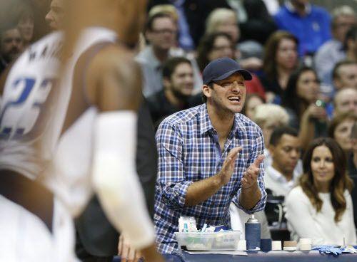 Tony Romo en un juego de los Mavs. Foto DMN