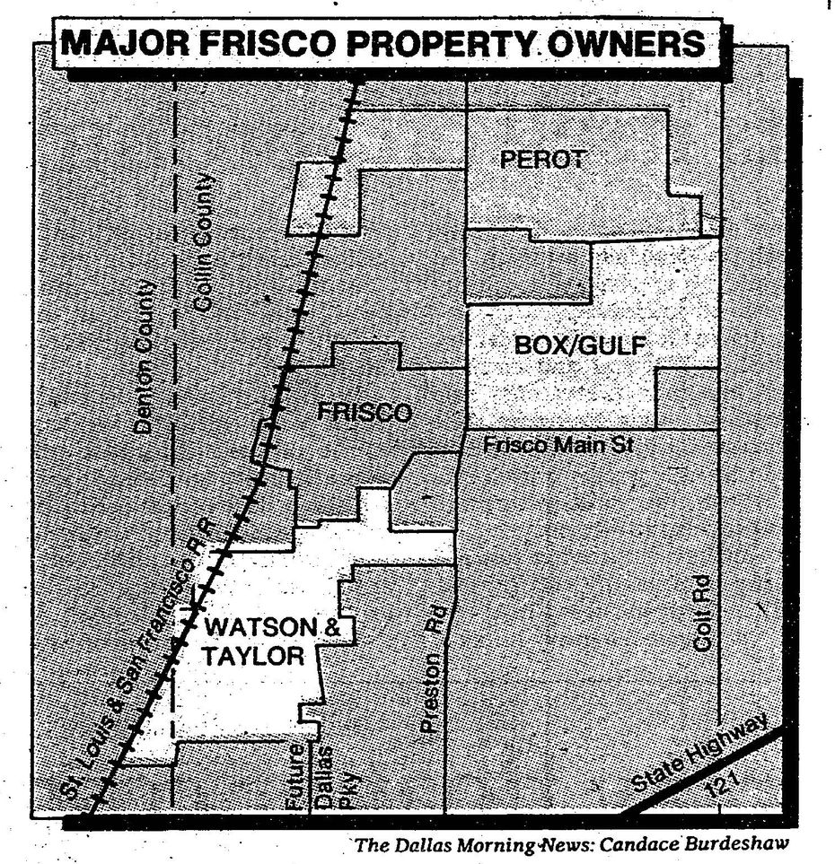Graphic published alongside story in July 15, 1984 issue of The Dallas Morning News.