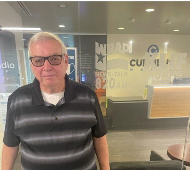Phil Williams of Grand Prairie is an IRS enrolled agent who helps taxpayers. He says the IRS is broken. Here, he leaves after giving an interview about the IRS on KLIF radio.