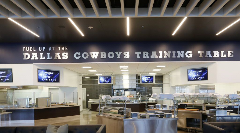 Eating area for Dallas Cowboys players and employees at the Dallas Cowboys new headquarters at The Star in Frisco on Sunday, August 21, 2016. The Star, is a joint project with the City of Frisco, and Frisco ISD. (Vernon Bryant/The Dallas Morning News)