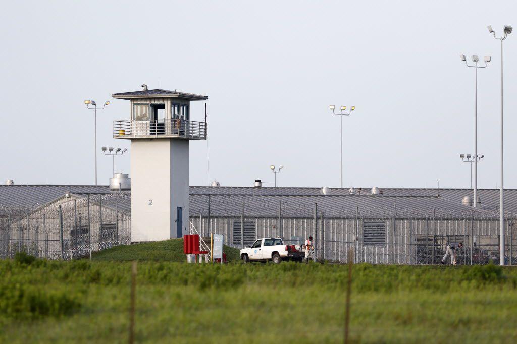 A Texas prison unit in Huntsville