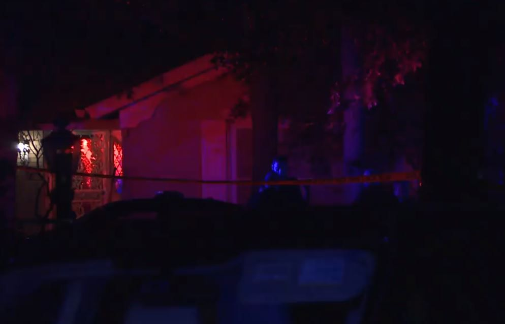The shooting occurred in the 5800 block of Blue Ridge Drive, near Oak Hill and Brentwood Stair roads.