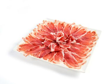 Jamon Iberico from Enrique Tomas, Spain's most famous store selling the high-quality ham.