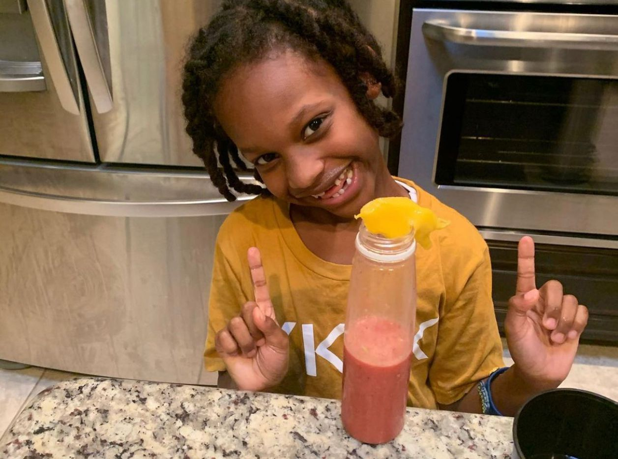 E'Syntheis created EE Healthy Juicy Juice to provide tasty alternatives with health in mind.
