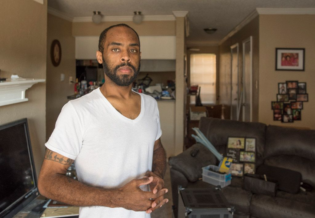 Bobo moved into a two-bedroom apartment in early September that he will pay for without the government's help. His apartment was in the middle of being unpacked, but he quickly hung family photos on the wall.