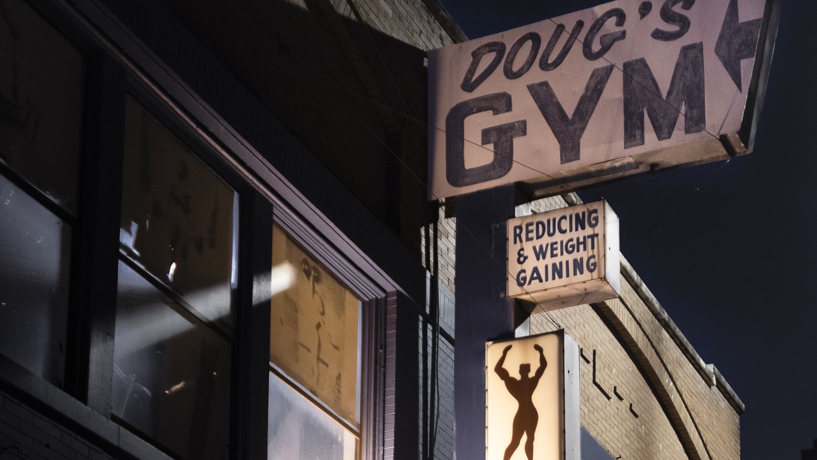 The new book, 'Doug's Gym: The Last of Its Kind' by Norm Diamond from Kehrer Verlag press documents the famous now-closed gym in downtown Dallas owned by Doug Eidd.