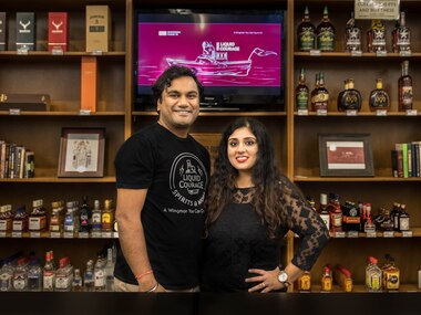 Divya and Ankit Jain are the owners of Liquid Courage Spirits and More, Plano's newest boutique liquor store.