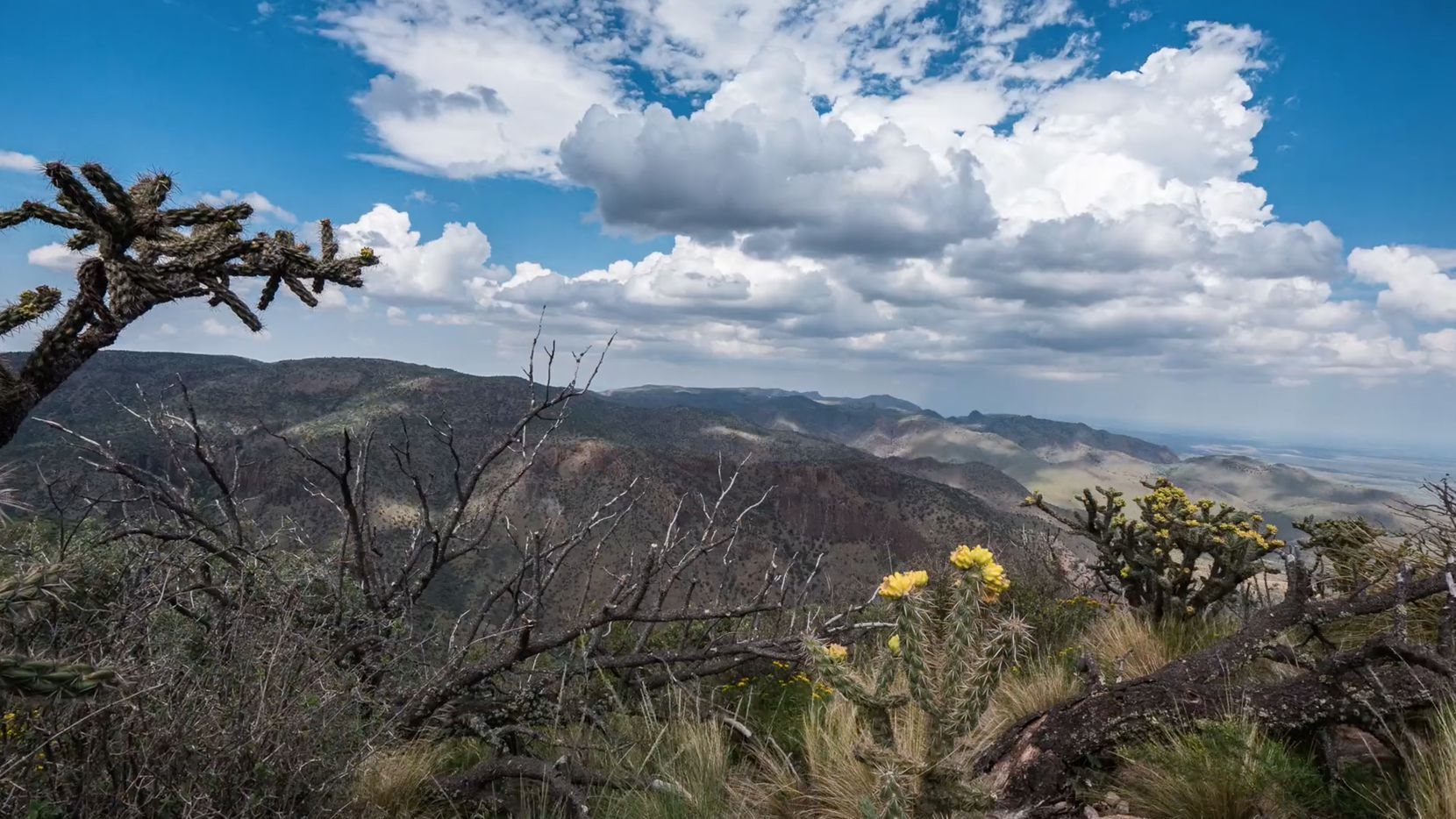 The Fox Canyon Ranch has 7,000-foot peaks.