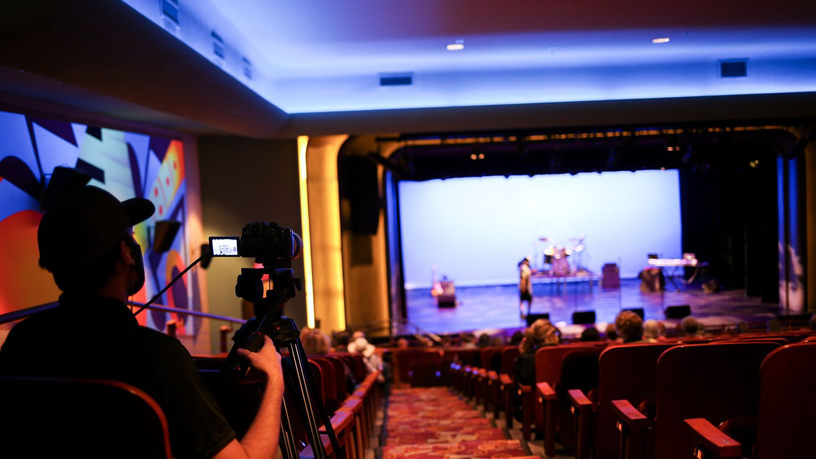 Socially distanced theater, with a live stream for at-home viewers, is continuing in Grand Prairie.