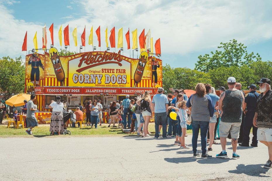 After the State Fair of Texas was canceled in 2020, Fletcher's Original State Fair Corny Dogs started selling corny dogs at pop-up events and at Golden Chick.
