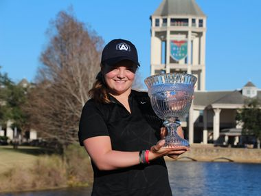 McKinney golfer Avery Zweig won her first American Junior Golf Association tournament earlier this week.