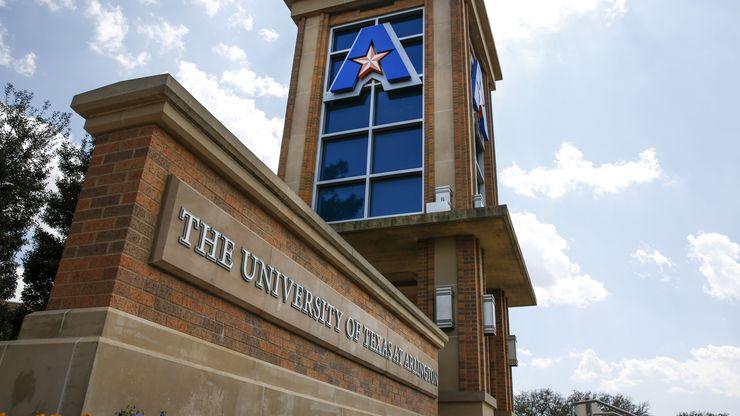 University of Texas Arlington on April 4, 2019 in Arlington, Texas. (Brian Elledge/The Dallas Morning News)