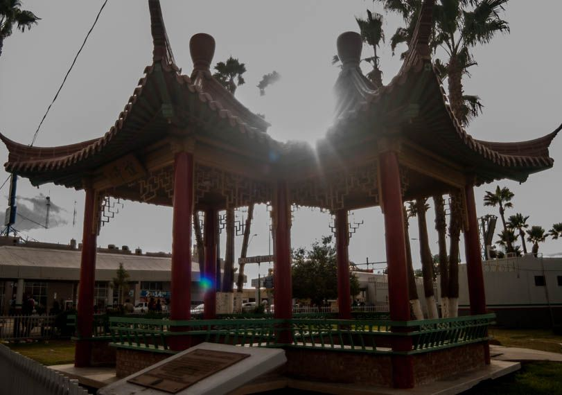 Nowhere is China's influence in Mexico more noticeable than in Mexicali, such as at a city plaza near a border crossing with the United States.