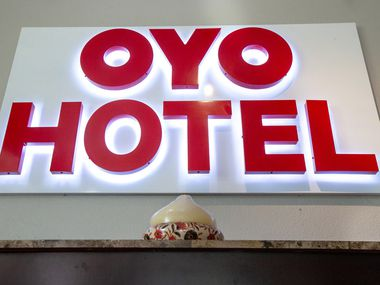 Oyo Hotel Dallas Love Field is part of the India-based hotel startup's U.S. expansion.