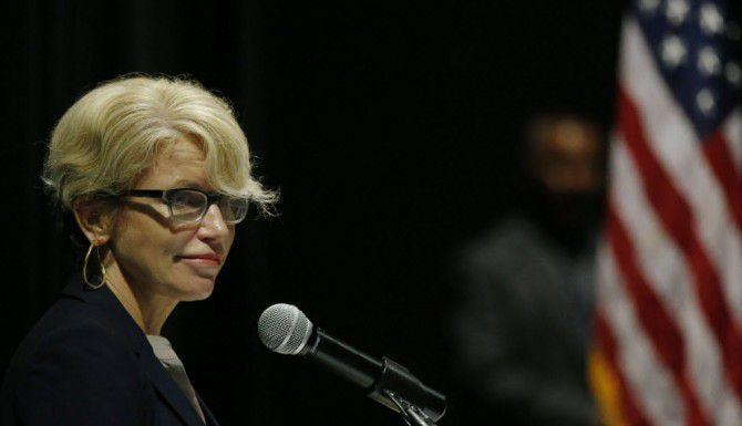 La fiscal de Dallas, Susan Hawk, ha estado ausente desde finales de julio.(DMN)