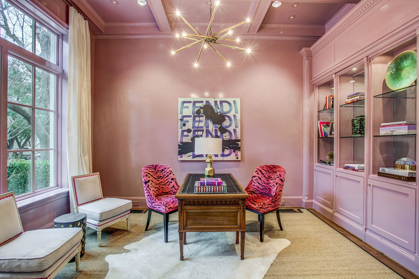 A look at the office of the Dallas home Kameron Westcott is selling.