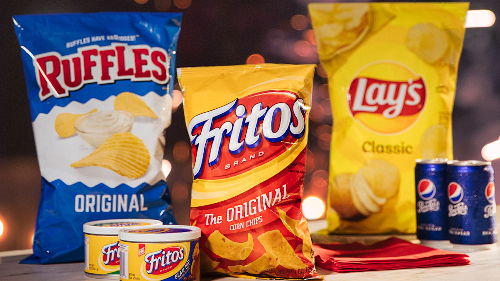PepsiCo's Frito-Lay division saw double-digit sales growth for brands like Tostitos, Fritos and Cheetos.