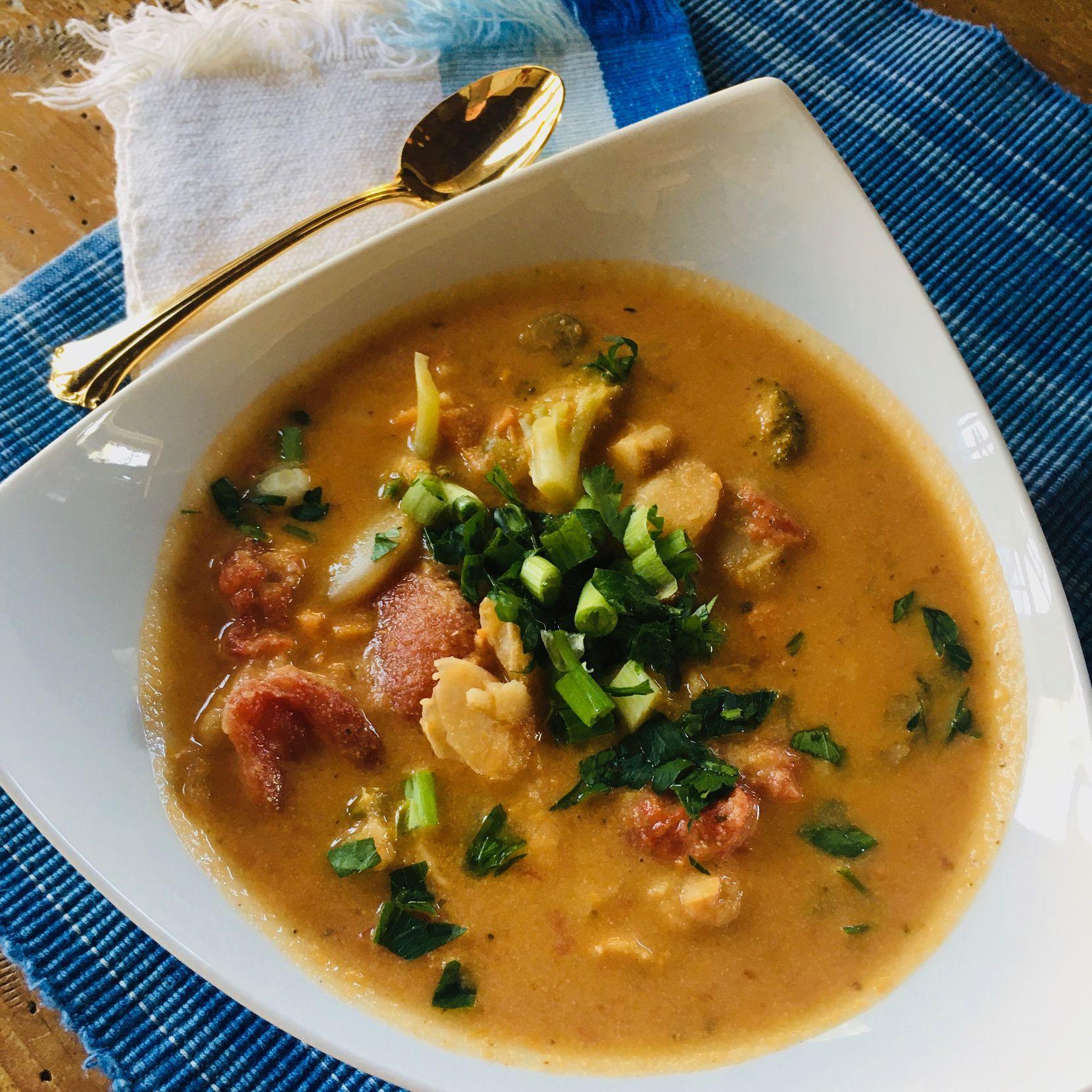 Creamy 10-Spice Veg Soup