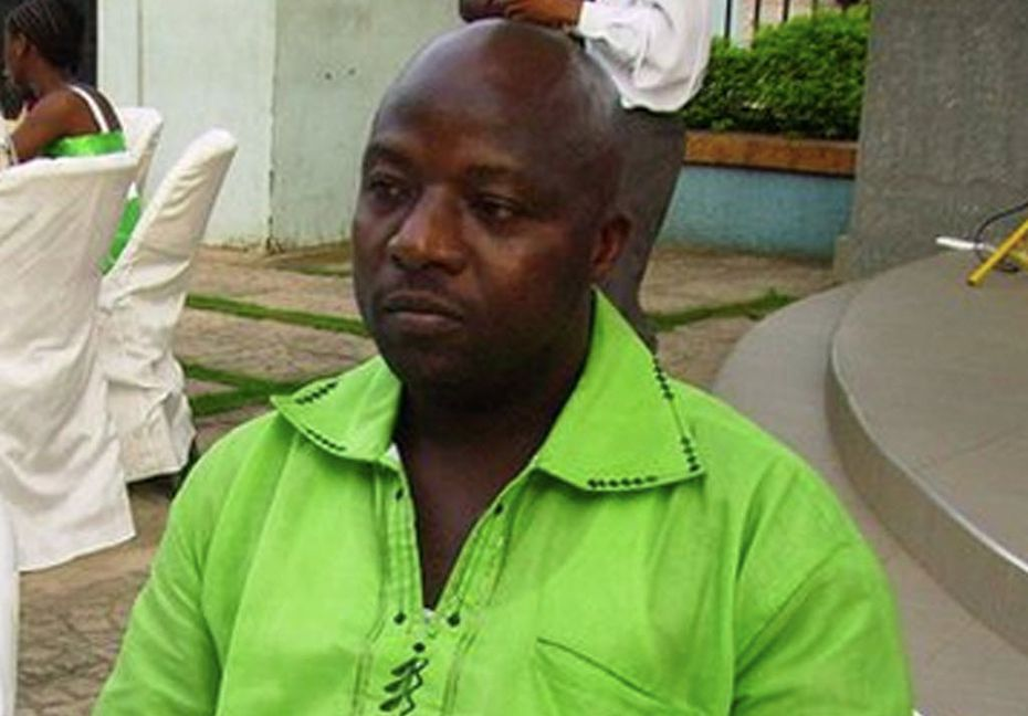 This 2011 photo provided by Wilmot Chayee shows Thomas Eric Duncan, the first Ebola patient diagnosed in the United States, at a wedding in Ghana. He died Oct. 8, 2014. (AP Photo/Wilmot Chayee)