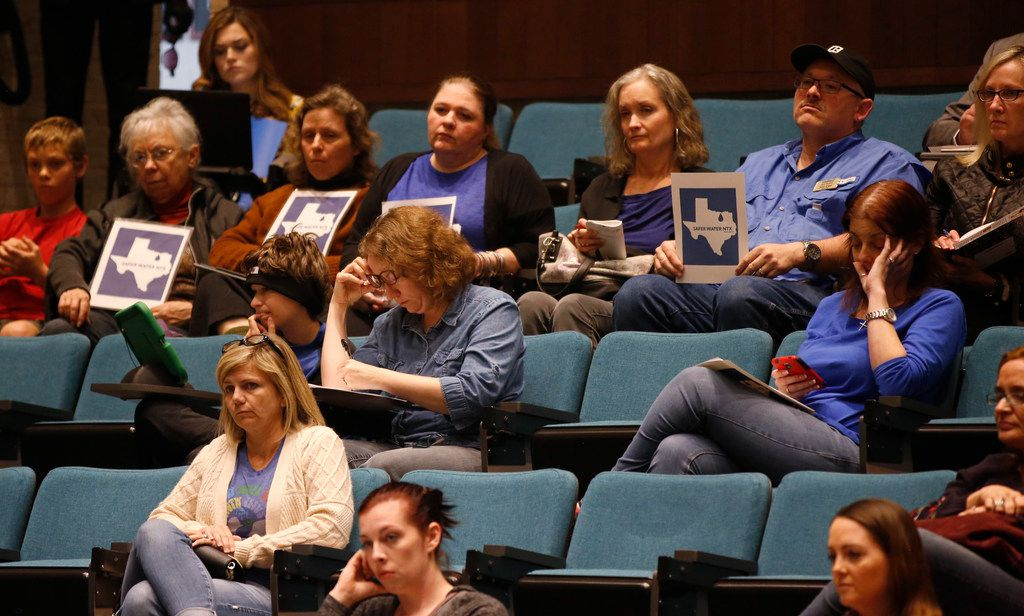 Concerned Plano residents listened to a presentation about the city's water quality during Tuesday's City Council meeting.