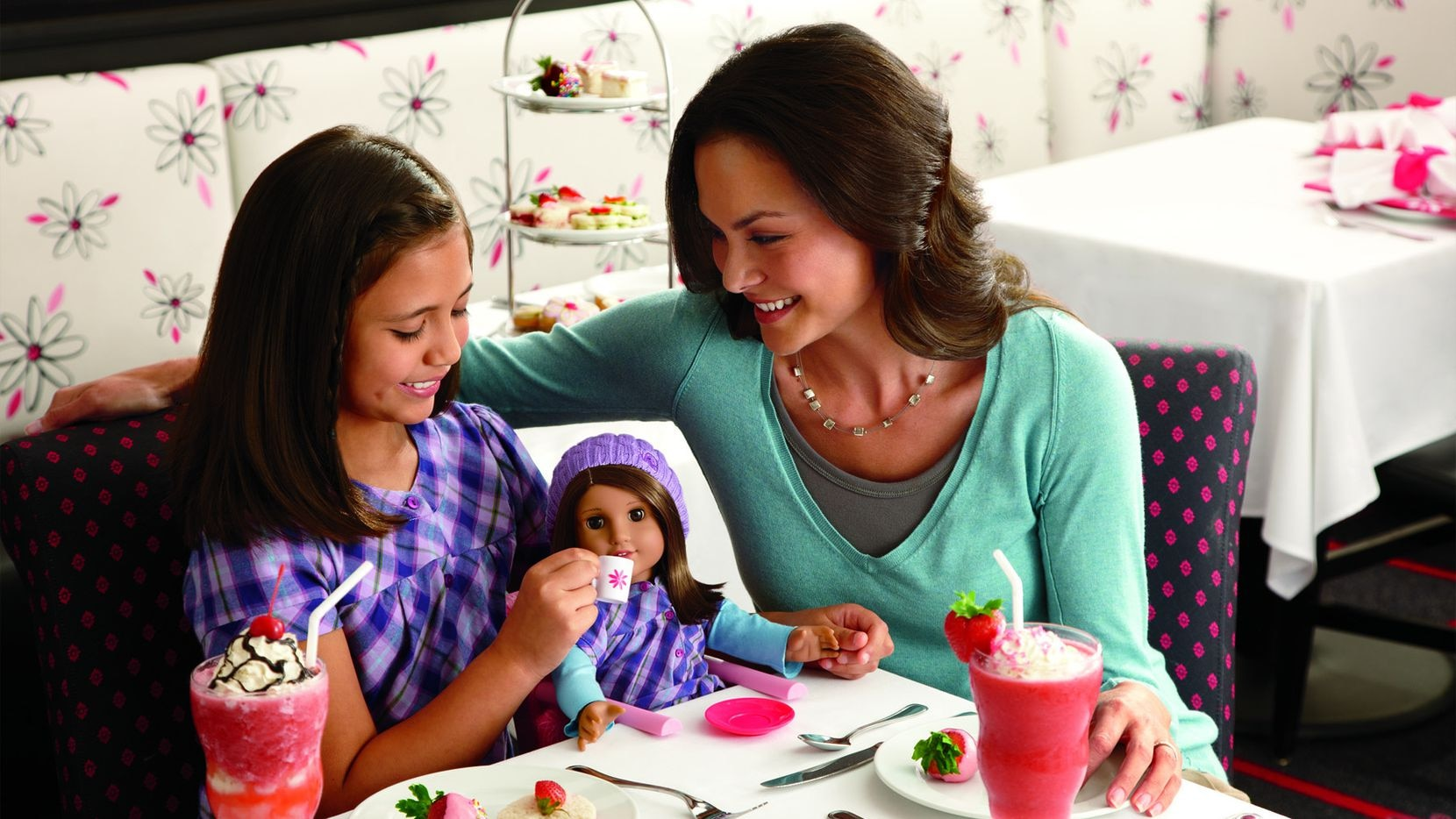 The American Girl store at the Galleria Dallas includes a bistro.
