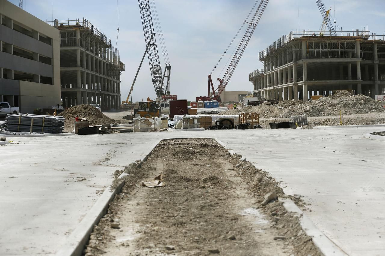 When the 1,200 construction workers  are finished with their jobs — including pouring 500 truckloads of concrete in one week — at the campus in Plano, it'll be time for 4,000 Toyota employees to move in.