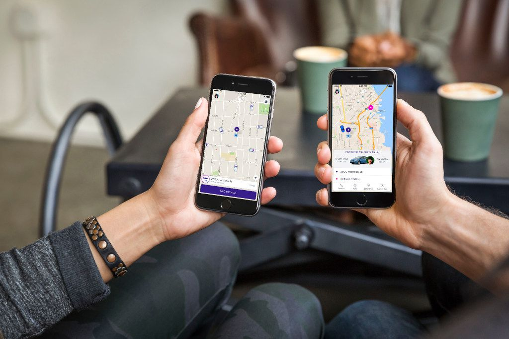 Lyft will show you the total fare before you order a ride.