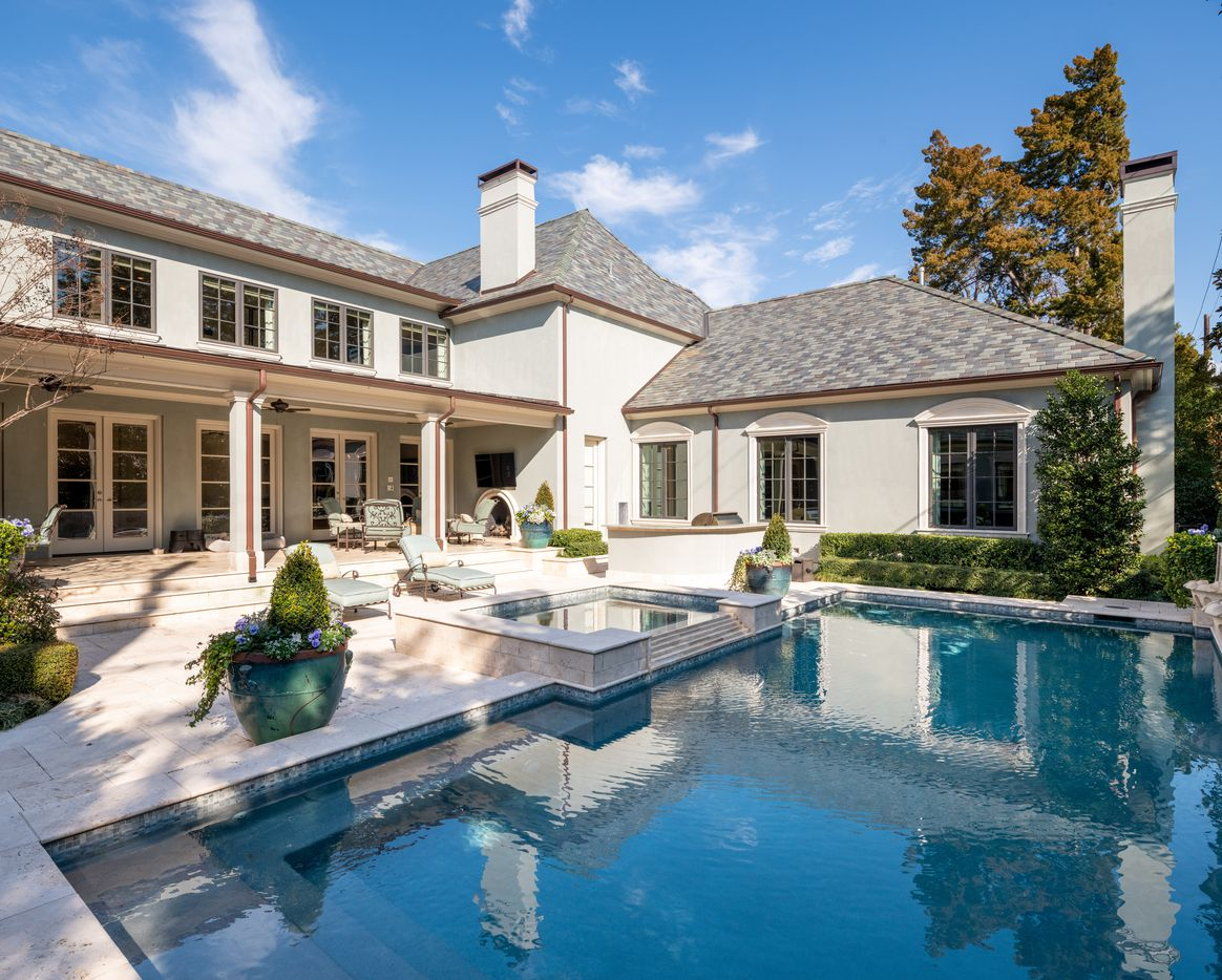 A look at the property at 4225 Beverly Drive in Dallas.