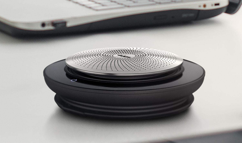 The Jabra Speak 710 speakerphone