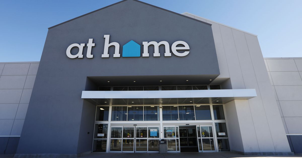 At Home announces that it has sold to private equity firm
