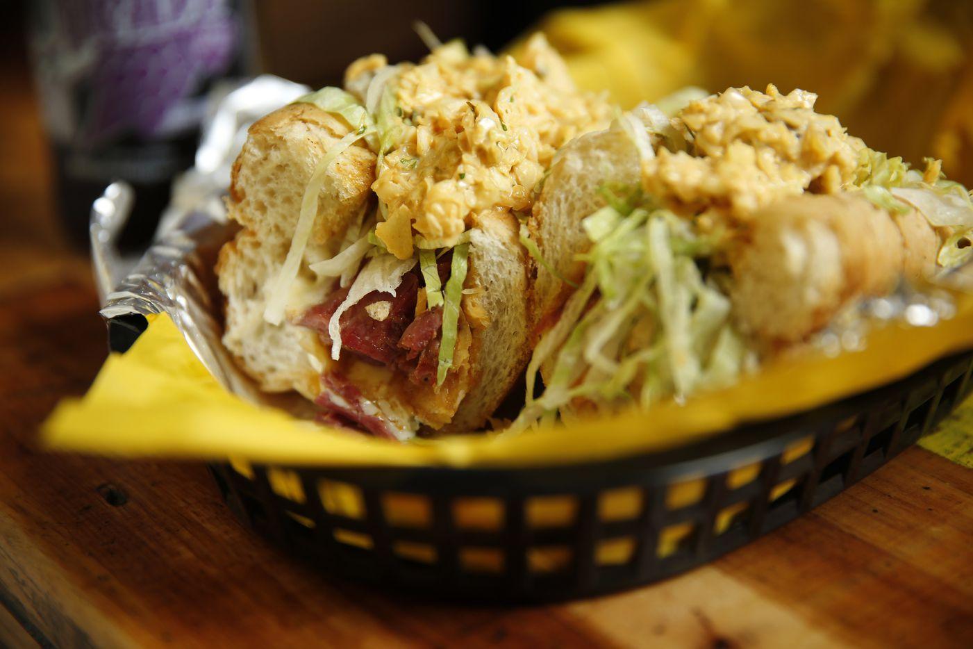 OWP corned beef sandwich