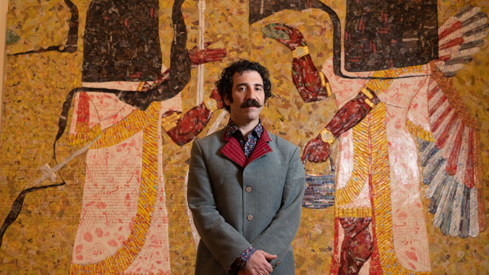 Michael Rakowitz, winner of the 2020 Nasher Prize, is finally getting to take part in some of the in-person events associated with the honor. He plans to use the $100,000 in prize money to continue his work centering on Iraq.